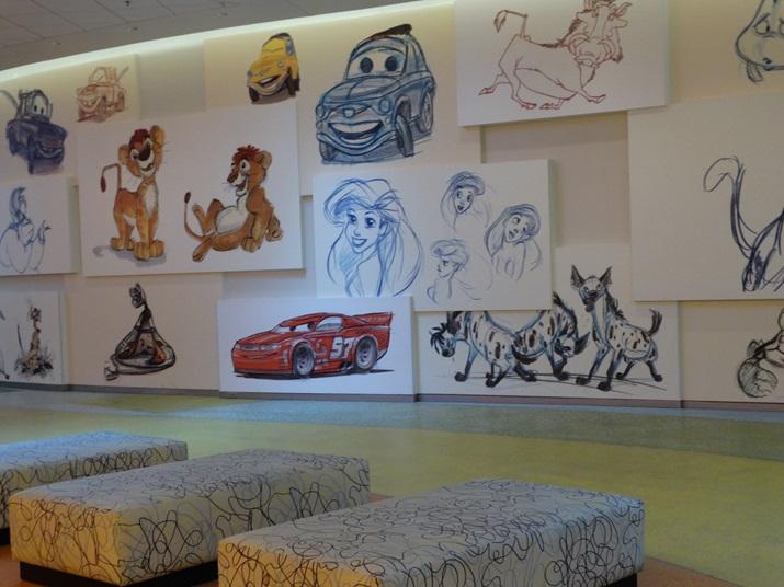 Disney's Art of Animation Hall
