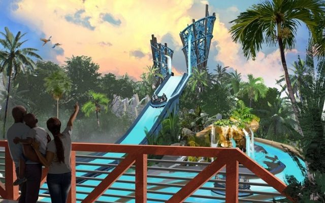 Infinitty Falls: novidade no Sea World