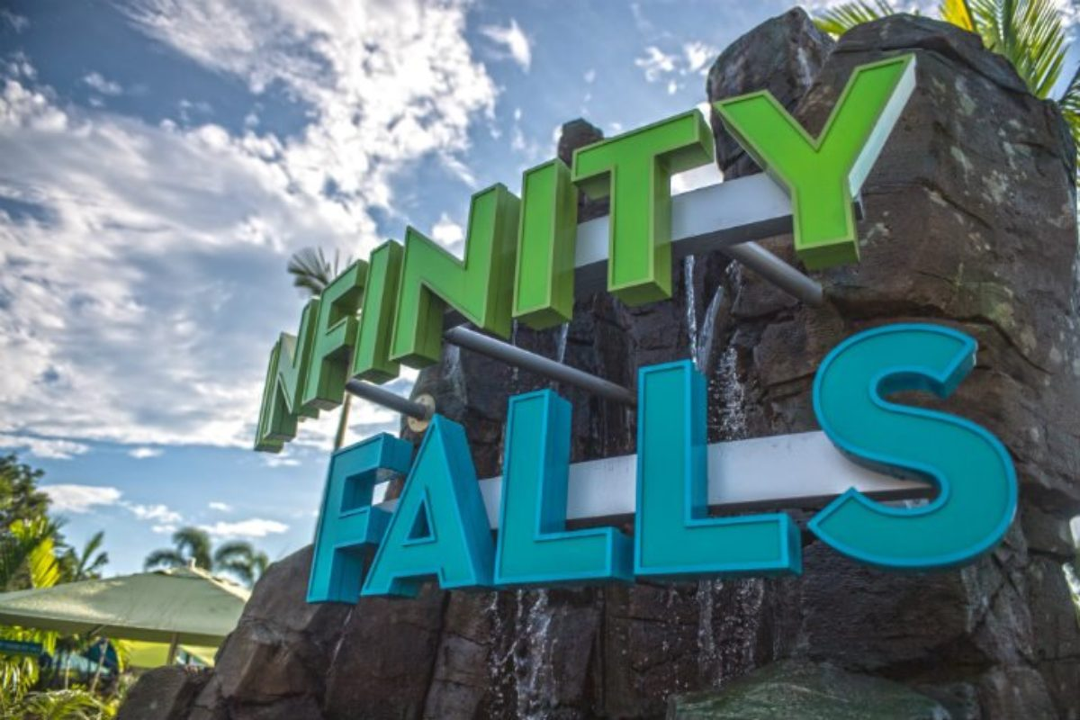 Infinity Falls: novidade no Sea World