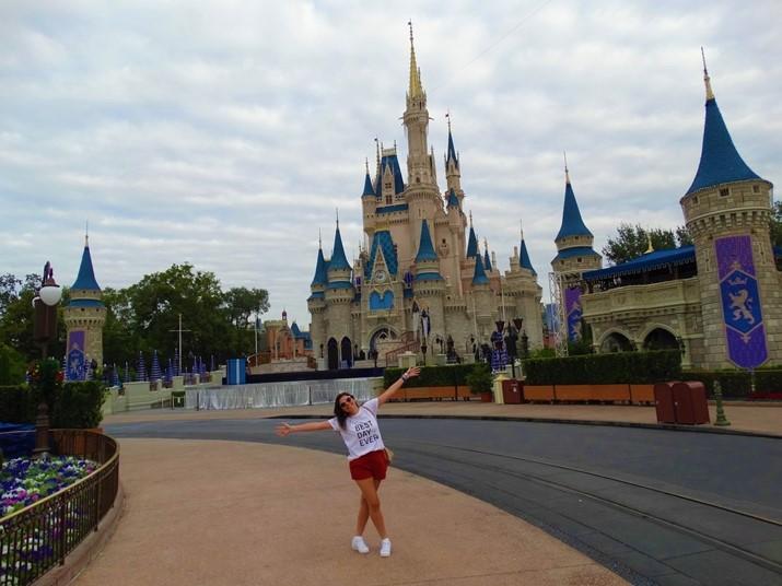 Magic kingdom vazio