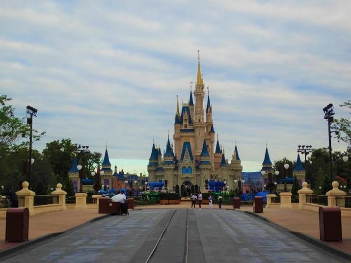 Magic Kingdom castelo da cinderela