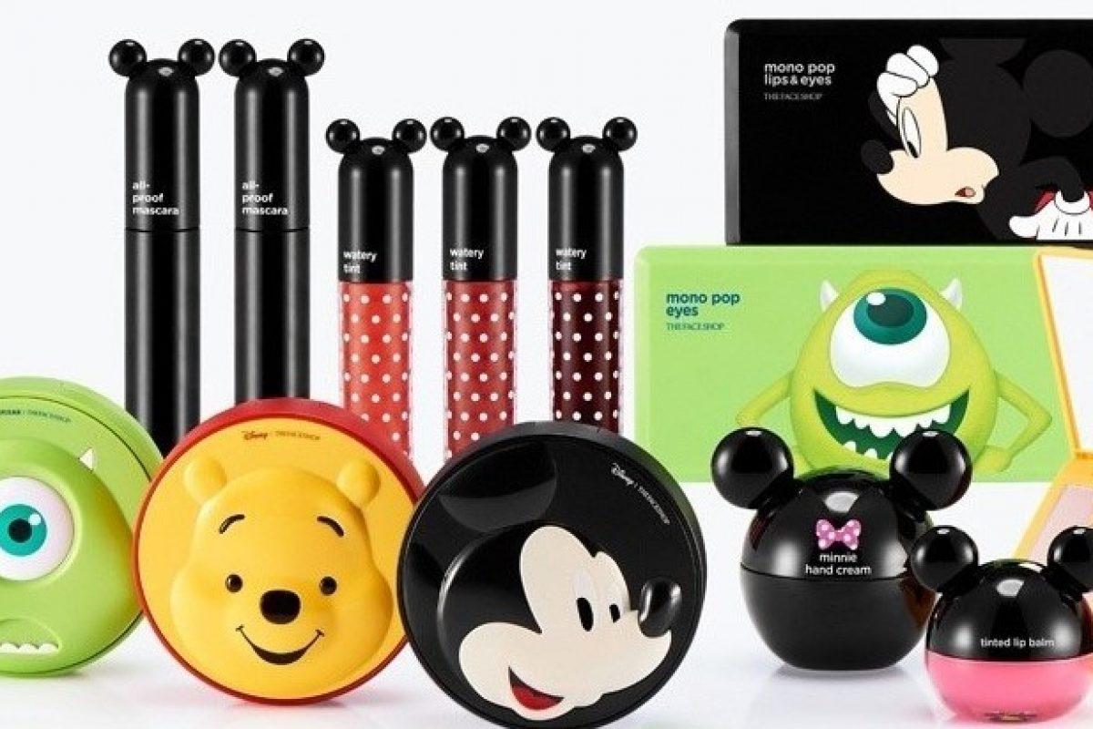 Linha de Maquiagem Disney The FaceShop