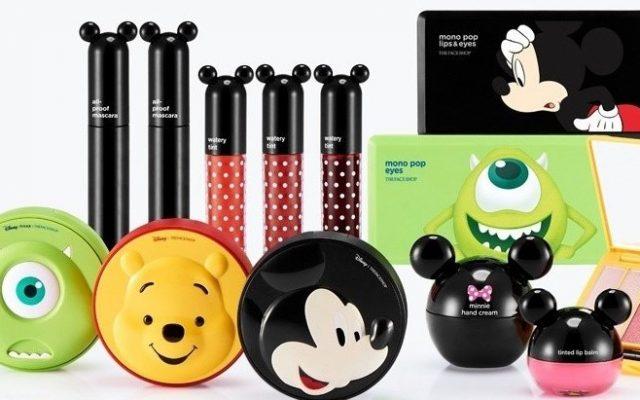 Linha de Maquiagem Disney The Face Shop