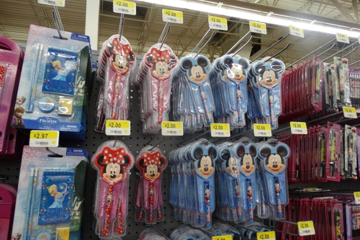 Walmart em Orlando: lembrancinhas da Disney até 5 dólares!
