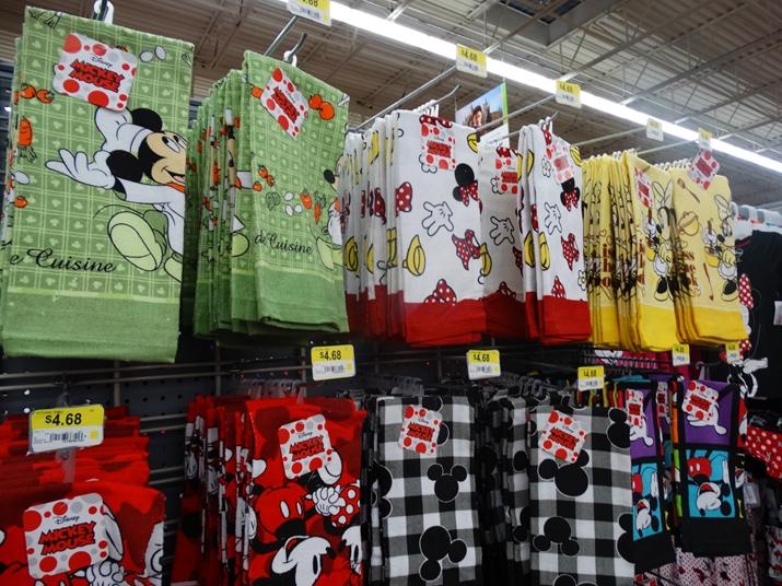 Walmart em Orlando panos de prato