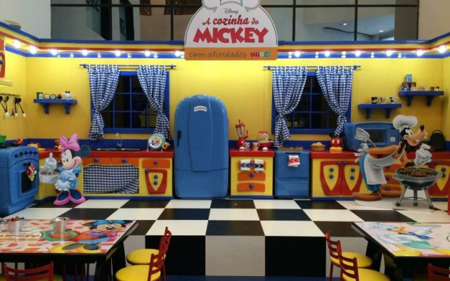 Cozinha do Mickey no Norte Shopping