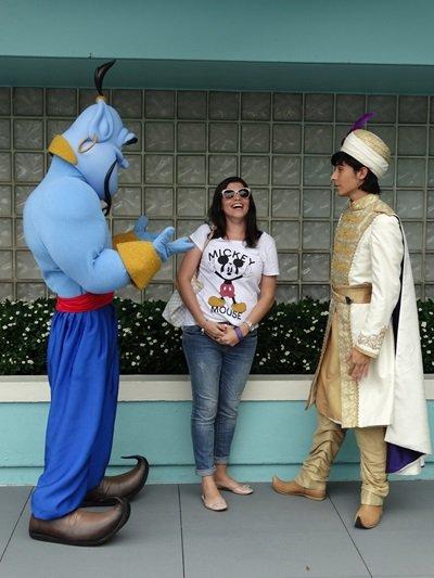 Character Palooza Genio Aladdin
