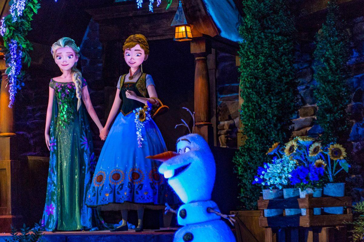 Frozen Dessert Party- seja VIP no show de fogos e na atração de Frozen no Epcot