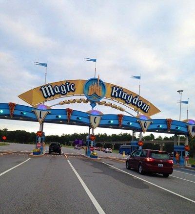Magic Kingdom entrada