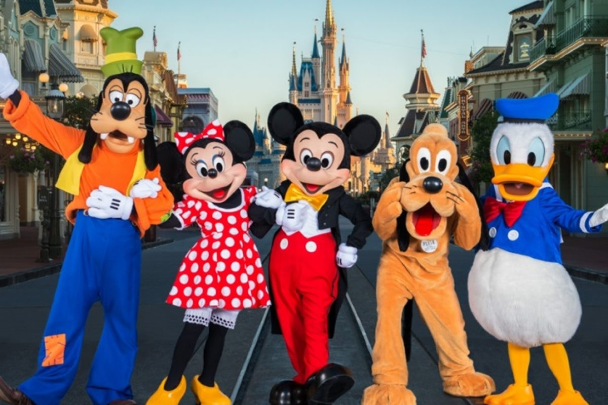 Contagem Regressiva Disney para criança colorir