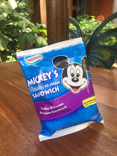 Melhores doces da Disney Sorvete do Mickey