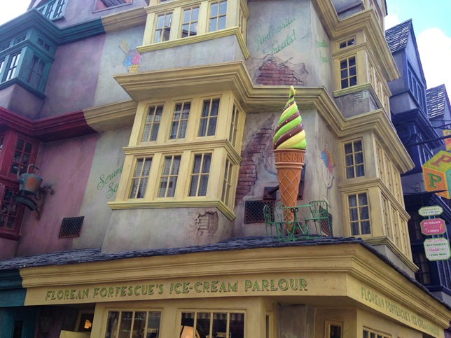 Florean Fortescue's Ice Cream Parlor