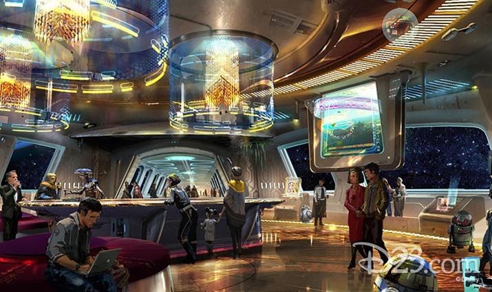 Novidades da Disney Hotel Star Wars