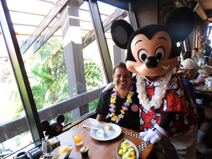 Ohana restaurante Disney Mickey