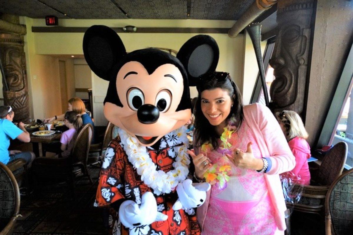 Quais são as refeições com Personagens da Disney?
