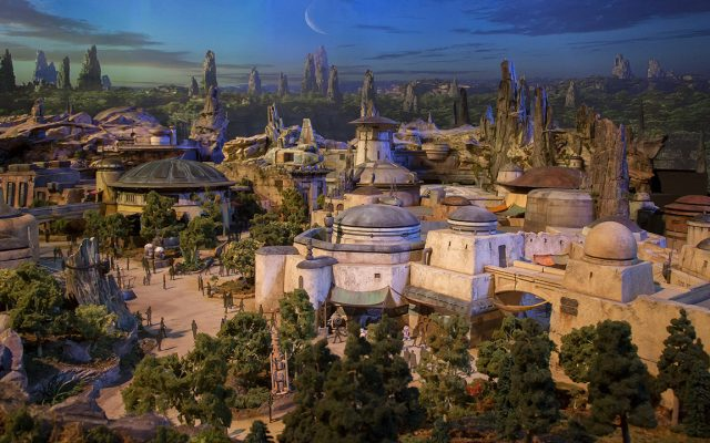 Star Wars Land no Hollywood Studios