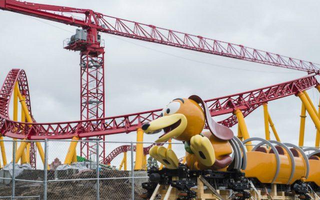 Área do Toy Story no Hollywood Studios começa a ganhar forma!