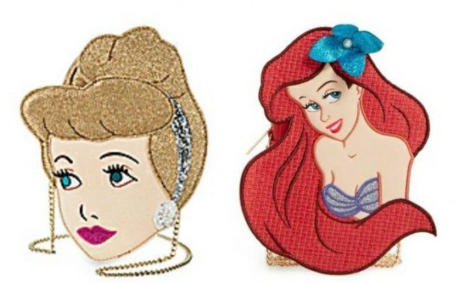 As lindas bolsas das princesas da Disney