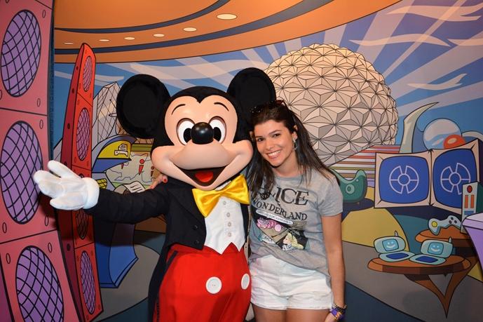 Epcot Mickey Character Spot