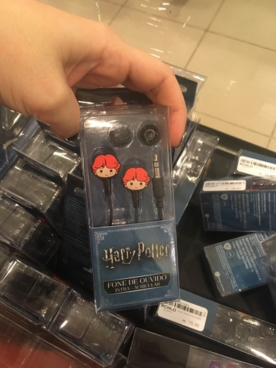 Harry Potter Riachuelo fone