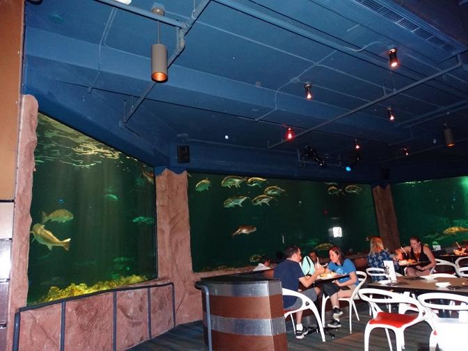 Sharks Underwater Grill Ambiente