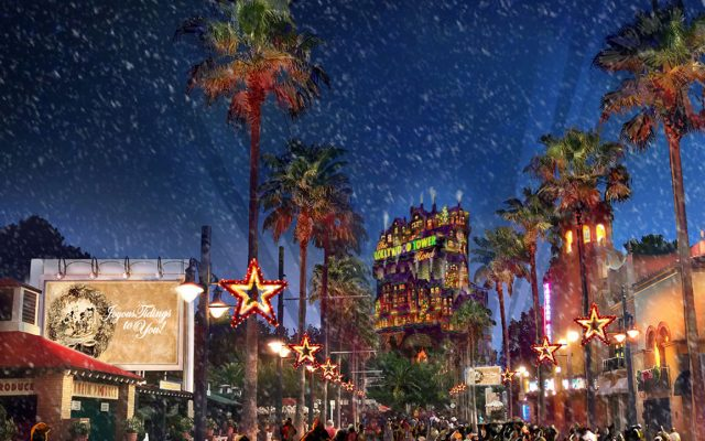Atrações de Natal no Hollywood Studios