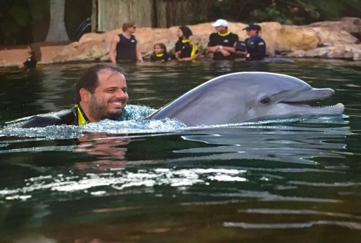 Discovery Cove Orlando golfinhos