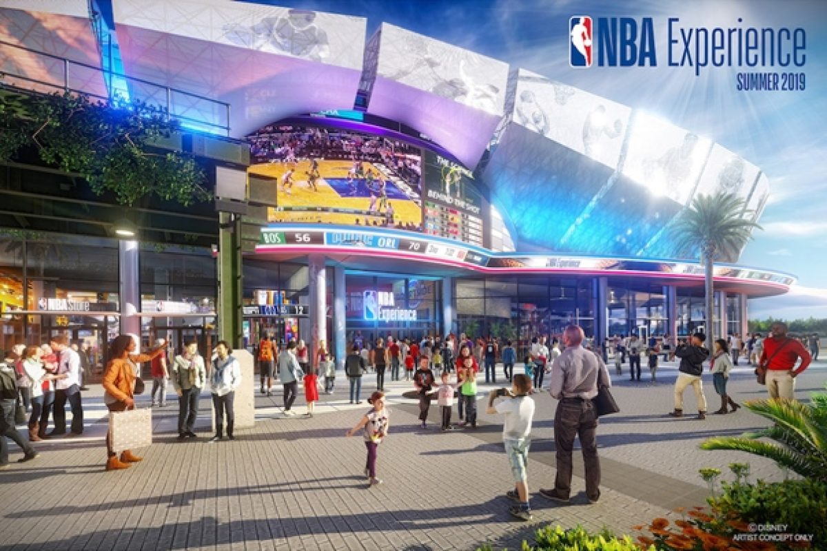 NBA Experience vai inaugurar na Disney