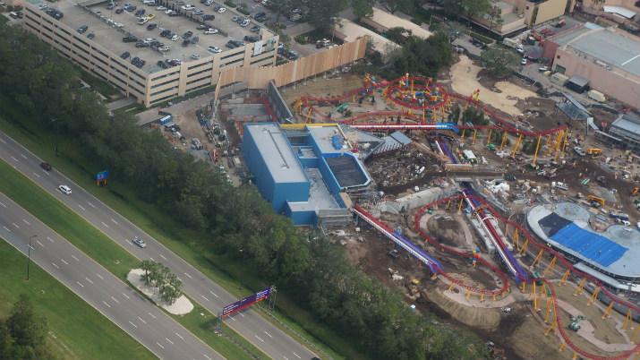 Toy Story Hollywood Studios Construção