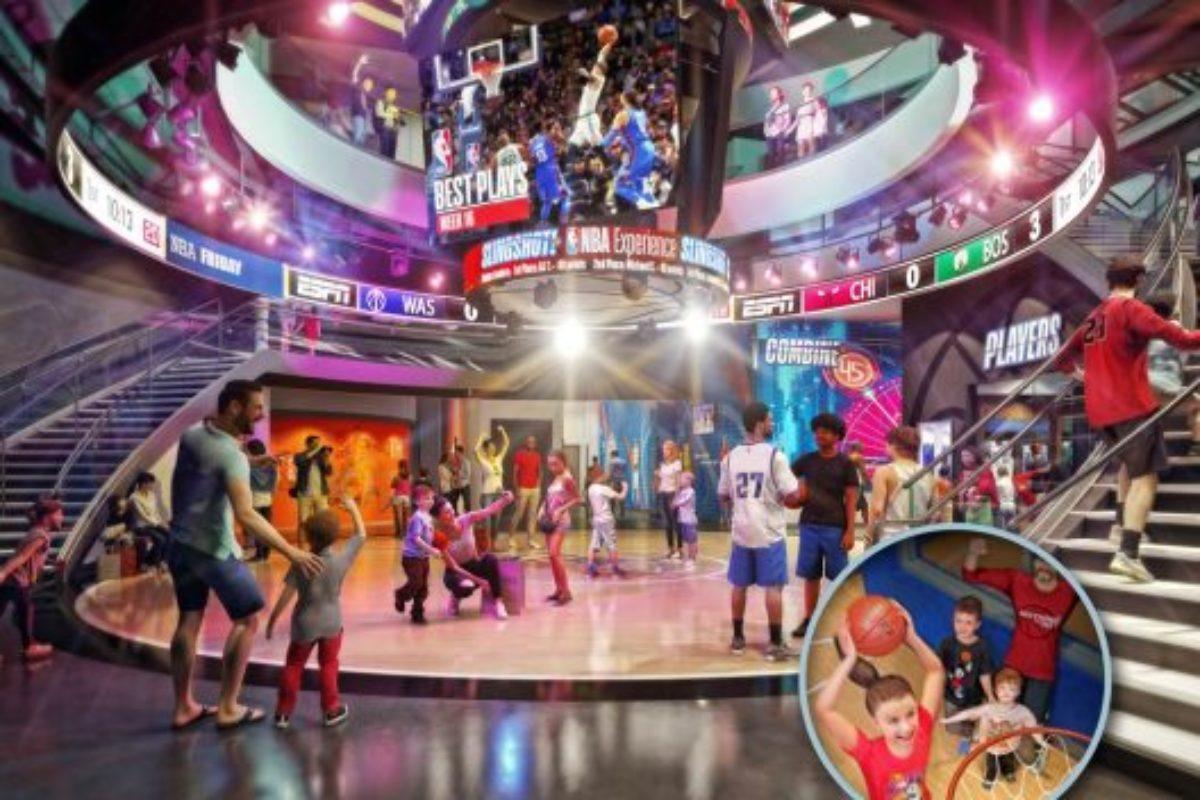 NBA Experience inaugura na Disney