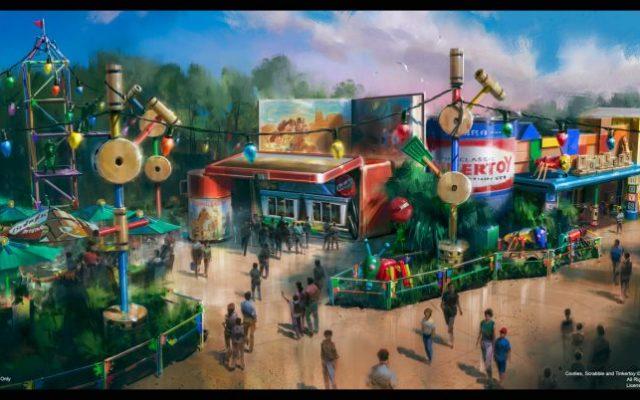 Disney divulga imagem do novo restaurante do ToyStory