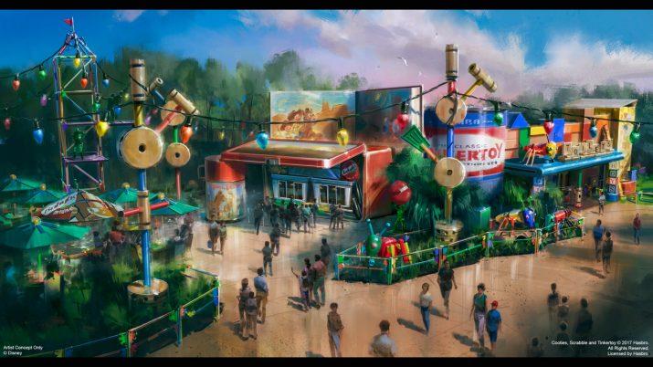restaurante do Toy Story