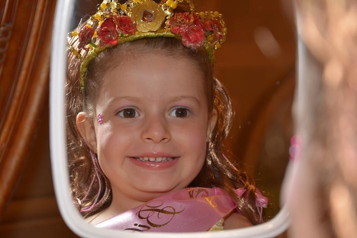 Bibbidi Bobbidi Boutique Transformação em princesa
