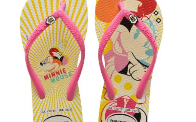 Novas Havaianas da Minnie