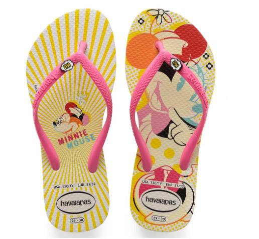 Novas Havaianas Da Minnie Disney De Novo