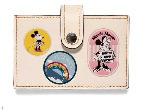 Coach Minnie Mouse Carteira