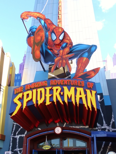 Islands of Adventure Simulador Homem Aranha