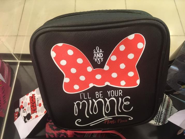 Riachuelo Mickey e Minnie Necessaire