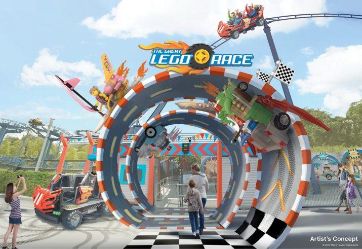 Novidades de Orlando em 2018 Lego Race Legoland