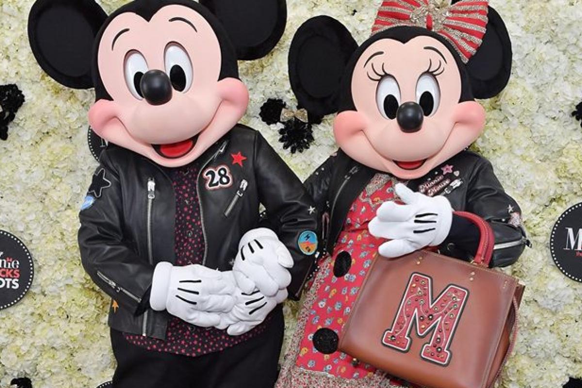 Coleção Coach Minnie Mouse- linda demais!