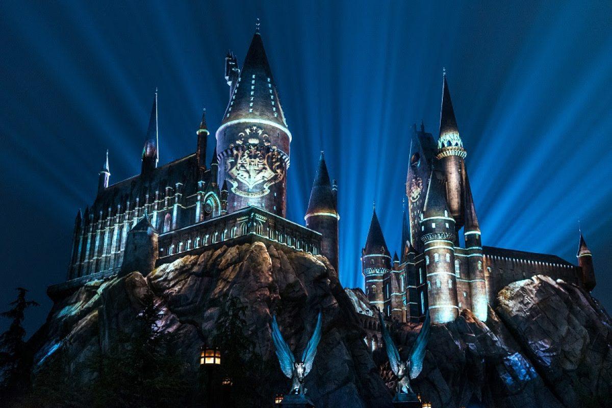 Novo show no Castelo de Hogwarts