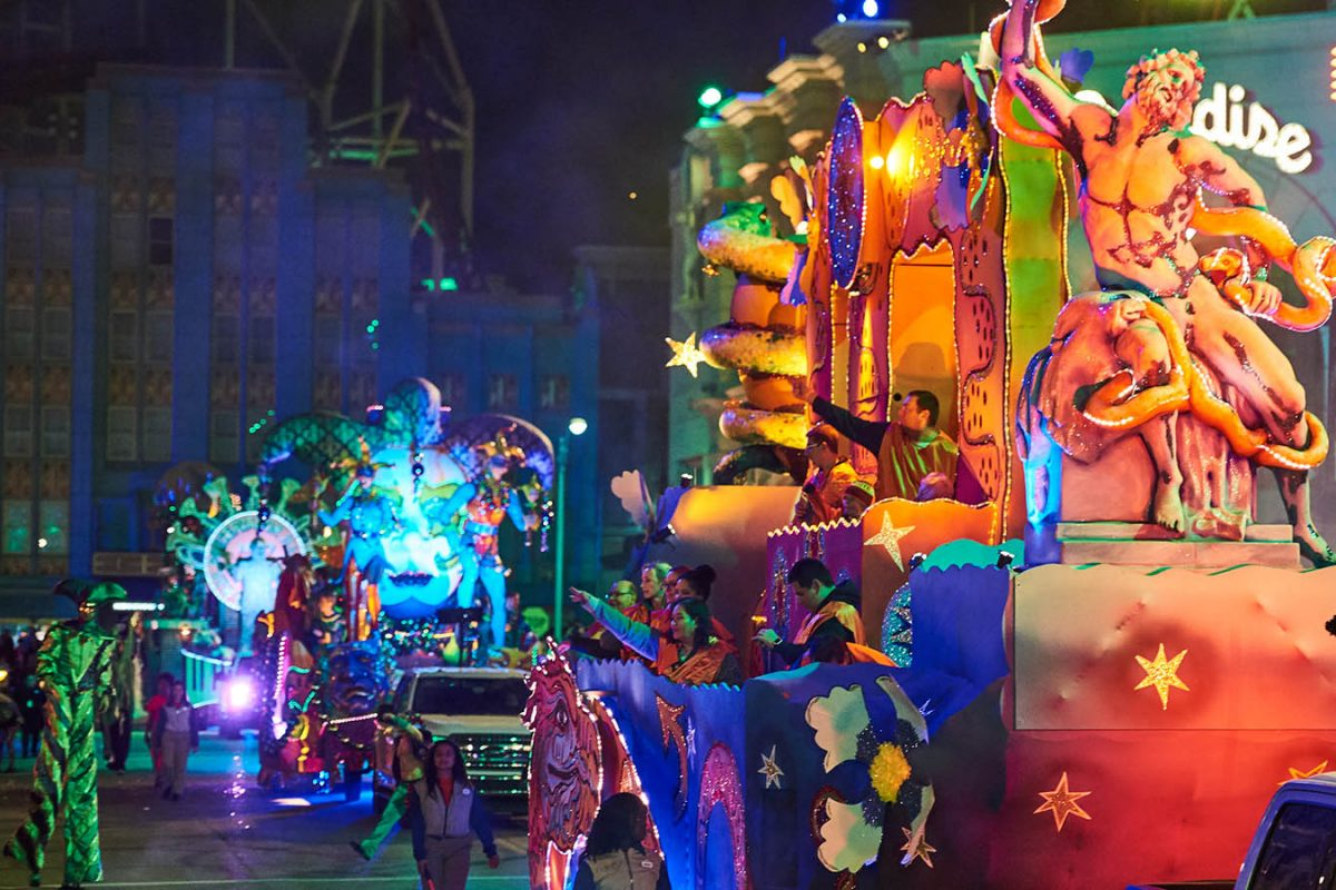 Mardi Gras — o Carnaval da Universal
