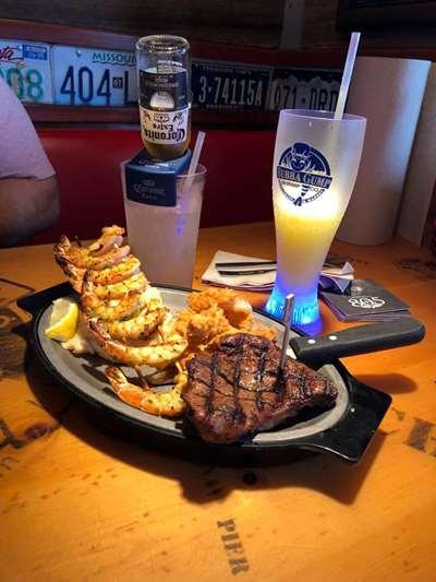 Bubba Gump Orlando Carne