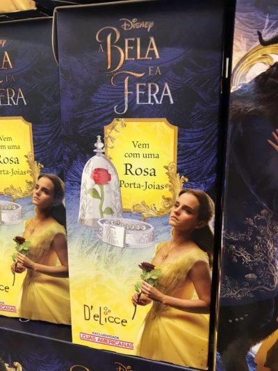 Ovo de Páscoa da Bela e a Fera Rosa