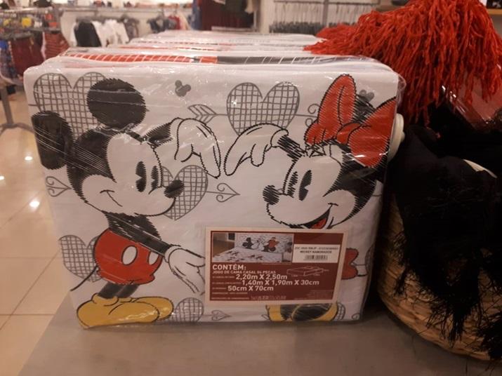 Disney Riachuelo Lençol Mickey