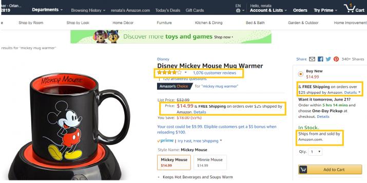 Como comprar na Amazon