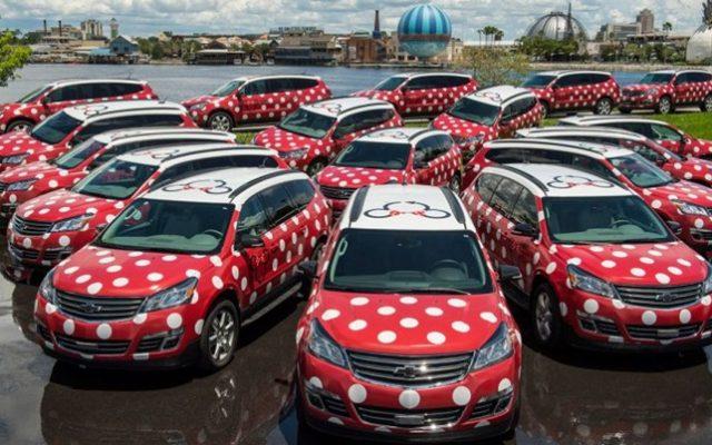 Van da Minnie disponível em todos os hotéis da Disney