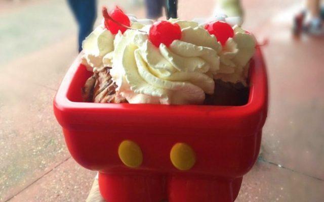 Sorvete Pia do Mickey e Minnie- onde comprar?