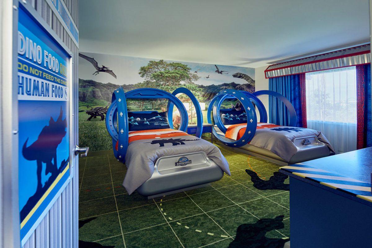 Novos quartos de Dinossauro no Loews Royal Pacific Resort