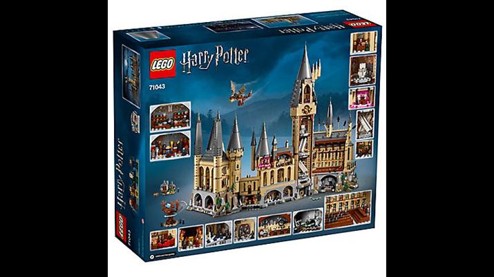 Lego Harry Potter Lançamento